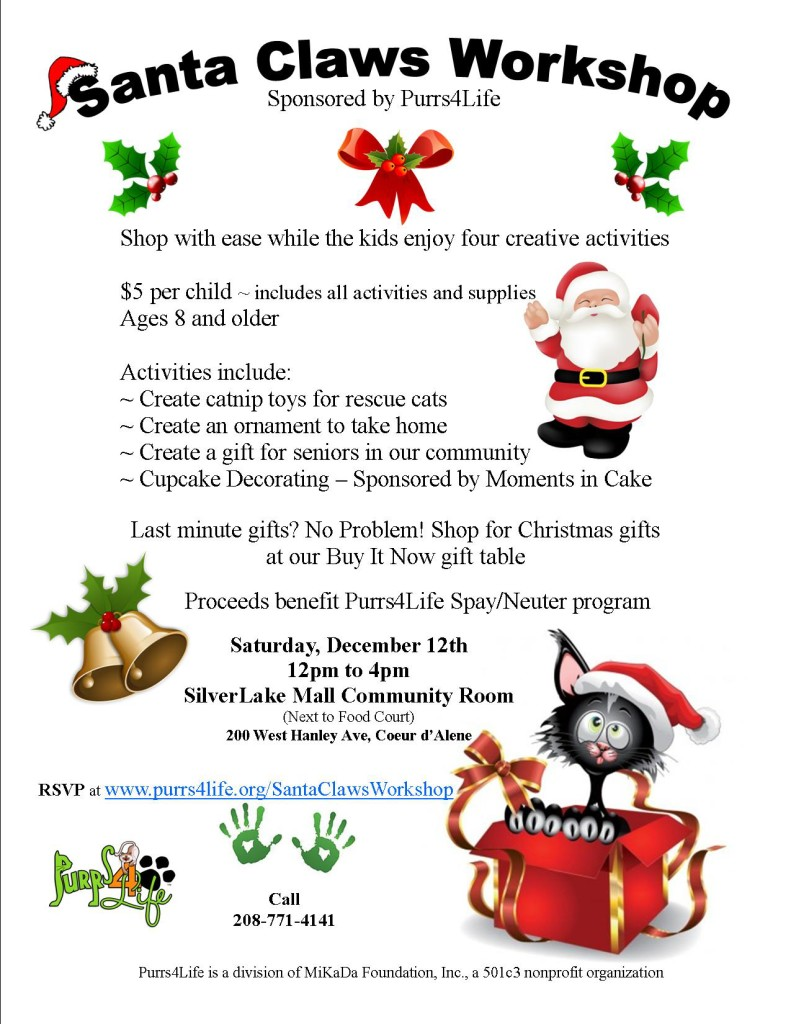 Santa Claws Workshop2015